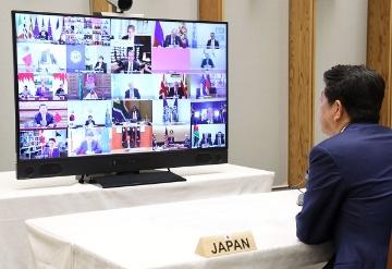 G20首脳テレビ会議を開催、強大な経済財政政策の実施で合意