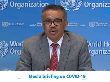 WHO事務局長が会見「数日で感染者は100万人、死者は5万人に達する」