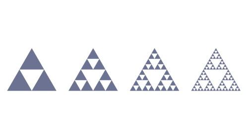 シェルピンスキーの三角形 ※