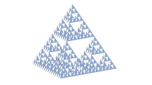 シェルピンスキーの四面体 ※