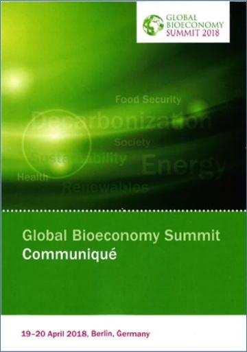 グローバルバイオエコノミーサミット2018の概要とOECDの新たな報告書