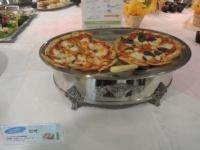 不二製油の大豆チーズピザ
