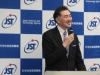 JSTで講演する広島大の山本教授