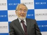 大隅氏、「研究費の絶対額の増大と研究しやすいシステム作りを」
