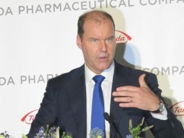 武田薬品のWeber社長「買収は戦略の変更ではなく、戦略の加速」と強調