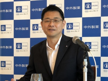 中外製薬の奥田社長、トップを狙うのは研究開発だけではない