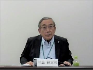AMED三島理事長が初の会見、「とにかく健康医療戦略室と対話を密にした」
