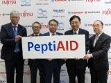 ペプチドリーム、富士通など4社と新型コロナ治療薬開発の新会社を設立