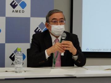 AMED三島会長、「バイオバンクのデータ利活用は2022年に開始」
