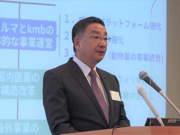 KMバイオロジクス、国産コロナワクチンは2022年内の供給を目指す