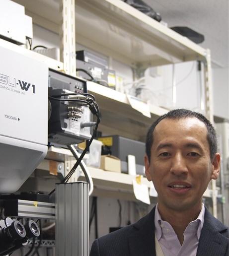 甲南大学理工学部生物学科 久原篤 准教授