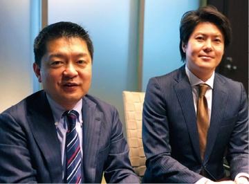 DCIパートナーズの成田宏紀社長と横田淳一ディレクターに聞く