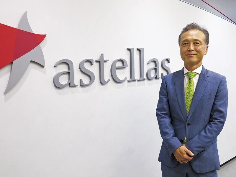 アステラス製薬の安川健司代表取締役社長 CEOに聞く