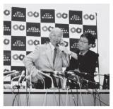 北里研究所顧問の大村智氏、ノーベル生理学・医学賞を受賞